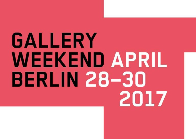 gallery weekend april 2017